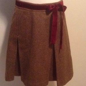 J. Crew Wool Skirt!